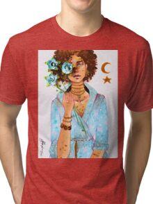 Blue Roses  Tri-blend T-Shirt