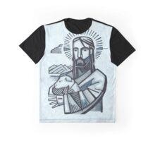 Jesus Good Shepherd Graphic T-Shirt