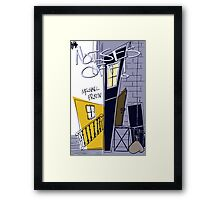 Noises Off Playbill Framed Print