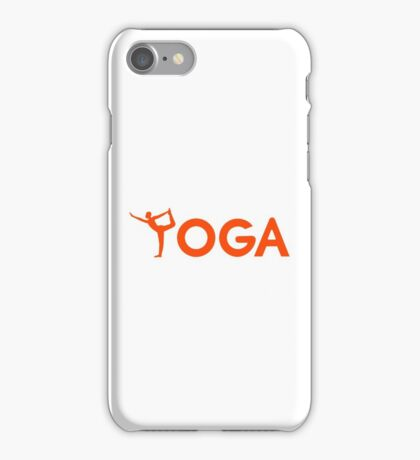 Yoga sports iPhone Case/Skin