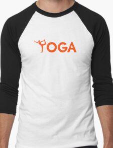 Yoga sports Men's Baseball ¾ T-Shirt
