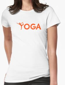 Yoga sports Womens Fitted T-Shirt