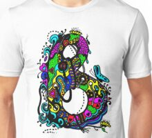 The Letter B  Coloured with Transparent Background Unisex T-Shirt