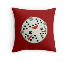 Jason Loves Fridays! Throw Pillow