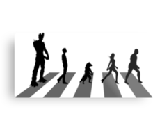 Guardians of the Galaxy - Abbey Road Beatles Metal Print