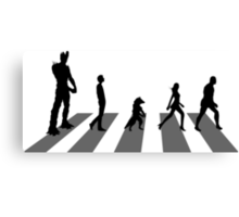 Guardians of the Galaxy - Abbey Road Beatles Canvas Print