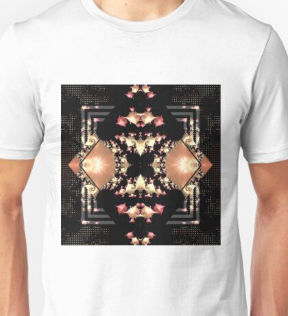 Mirrored Mandelbrot Unisex T-Shirt