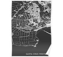 Santa Cruz Westside, wireframe Poster