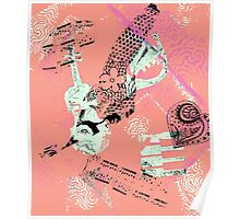 Musical Memories 5 Faux Chine Colle Monoprint Var 1 Poster