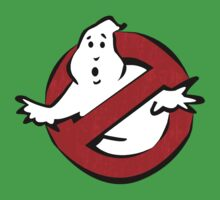 """""""I ain't afraid of no ghost"""" Ghostbusters Stay Puft Mashmallow Man Green Slime Slimer One Piece - Short Sleeve"""