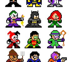 8-bit Gotham by 8 Bit Hero