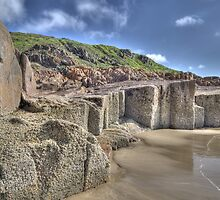 One Mile Beach, Anna Bay, NSW by Adrian Paul