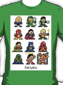 8-bit Justice League T-Shirt