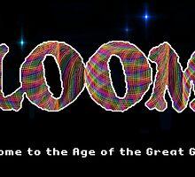 Rainbow Corded Loom by RockSky-Comics