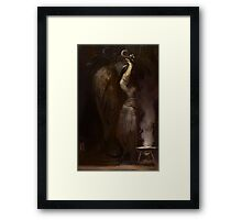 Zos vel Thanatos Framed Print