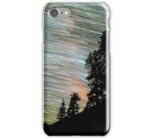 Star Trails and Giant Trees at Sequoia Park iPhone Case/Skin