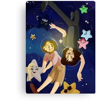 Grumps In Space Canvas Print