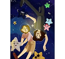 Grumps In Space Photographic Print