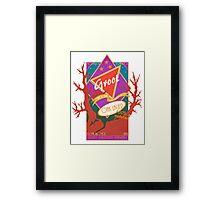 Groot Beer Oak Lager Framed Print