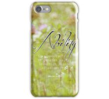 ability-inspirational quote iPhone Case/Skin