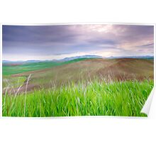 Dawn In The Palouse Poster