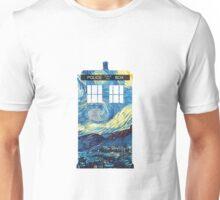 Van Gogh's TARDIS Unisex T-Shirt
