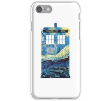 Van Gogh's TARDIS iPhone Case/Skin