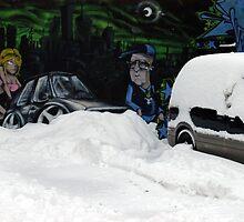 Damn Snow! by michel bazinet