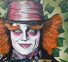The Mad hatter by artbynewton
