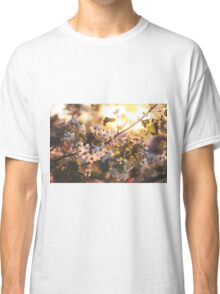 Gold flowers Classic T-Shirt