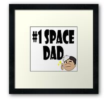 Voltron: #1 Space Dad Framed Print