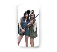 Kardashians with guns: Kylie and Kim Samsung Galaxy Case/Skin