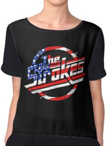 the strokes Chiffon Top