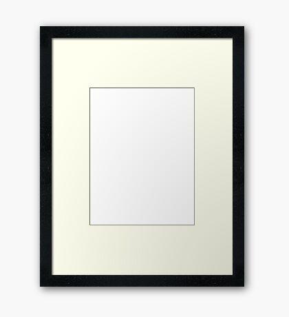 Nerd vs Geek science Framed Print