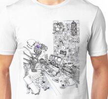 Robot Science Girl Unisex T-Shirt