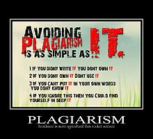 Avoid Plagiarism by lesbooth