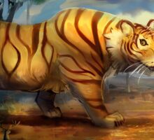 Giant Plains Tiger Sticker