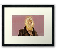 War Doctor Painting Framed Print