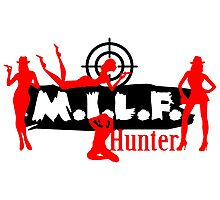 Milf Hunter VRS2 Photographic Print