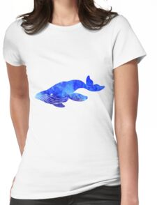 Alyson's Whale Womens Fitted T-Shirt