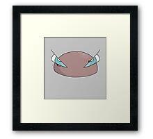 Meatballs for Dinner? Framed Print