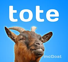 Tote McGoat by jtbentley
