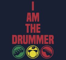 i am the drummer Kids Tee