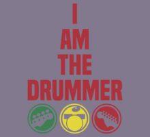 i am the drummer Kids Tee