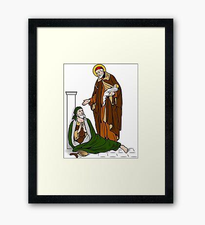 ST VINCENT DE PAUL   Framed Print