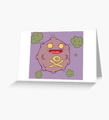 Zombies Go Greeting Card