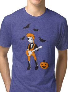 Halloween Jack Tri-blend T-Shirt
