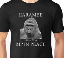 Harambe: Forever In Our Hearts Unisex T-Shirt