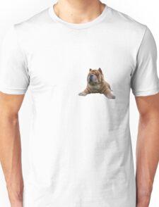 Chow Dog Portrait Unisex T-Shirt