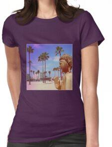 Beach Buddha Womens Fitted T-Shirt